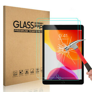 2-Pack-Tempered-GLASS-Screen-Protector-for-Apple-iPad-7th-Generation-2019-10-2