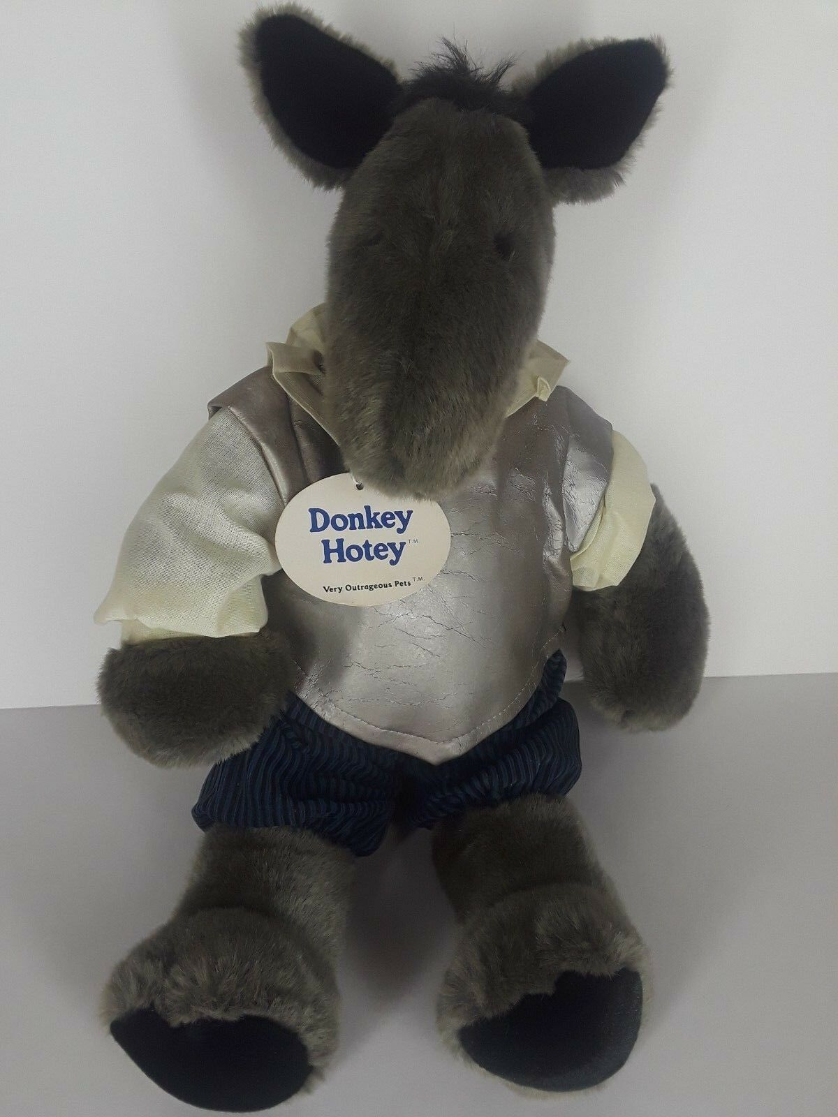 Vintage 1985 North American Bear Co 20  VOPs Donkey Hotey Very Outrageous Pets