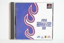 FIFA Road to World Cup 98 PS PlayStation 1 PS1 PSX Japan Import US Seller