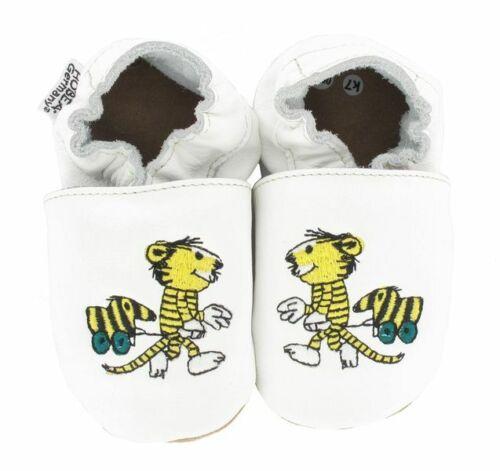 Krabbelschuhe Babyschuhe Kinderschuhe Janosch Tigerente von HOBEA-Germany