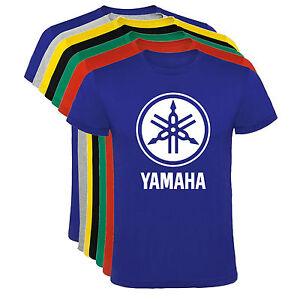 Camiseta-Yamaha-logo-motos-motocicletas-Hombre-varias-tallas-y-colores-a067