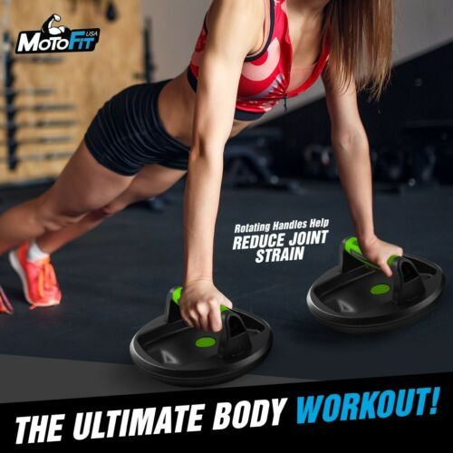 Woman, Great for Perfect Push up for Men Rotating Pushup Handles foldable