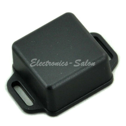 HIGH QUALITY Small Wall-mounting Plastic Enclosure Box Case Black 36x36x20mm