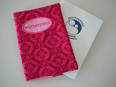 Hülle Für Mutterpass cord Pink Ornamente Mutterpass-hülle Schwangerschaft Chinesische Aromen Besitzen