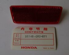 HONDA 1972 SL100 SL125 SL350 CT90 K4-K5 C70 K1 REFLECTOR TAILLIGHT NOS Vintage