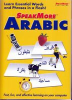 Speakmore Learn To Speak More Arabic Arab Language (pc Software) Free Us Ship