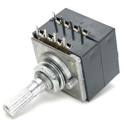 1Pc potentiometer 250K log alps audio amp volume control pot stereo w loudneK I