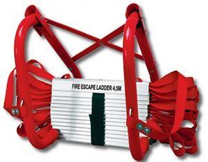 Rettungsleiter-Feuerleiter-Brandleiter-Notfallleiter-Notleiter-Fallleiter-4-5m
