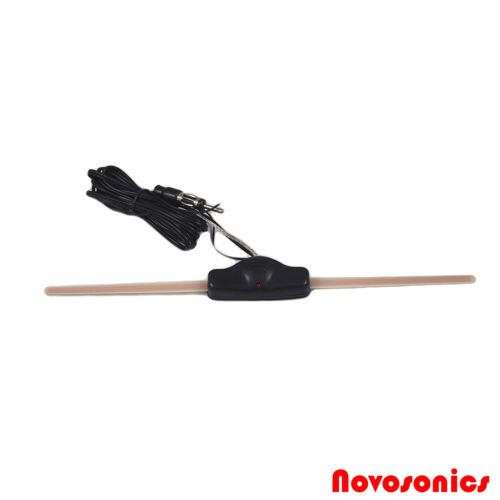 Novosonics CA-103MINI Universal Amplified Slim Windshield Glass Mount Antenna