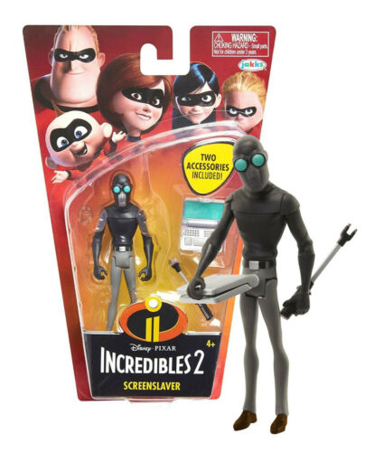 """The Incredibles 2 screenslaver avec ordinateur portable 4/"""" Figure New in package"""