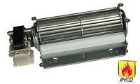 Universal Blower (motor At Left) Only For Wood / Gas Burning Stove Or Fireplace