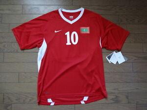 860c9f7a815 Maldives  10 Umar 100% Original Soccer Jersey Shirt L BNWT Home ...
