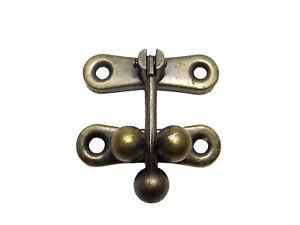 Schatullenverschluss-Schatullenschloss-Truhenverschluss-Kastenverschluss-A-021