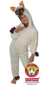 NEW Safari Plush Full Body Hooded Siamese Cat Costume - Dress-ups Party Book