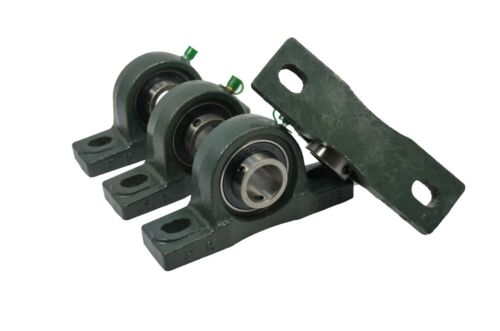"UCP204-12 3//4/"" Pillow Block Solid Base Mounted Bearing Unit Qty. 4"