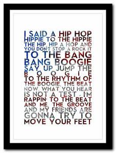 THE-SUGARHILL-GANG-Rapper-039-s-Delight-poster-old-skool-art-print-4-sizes
