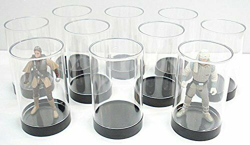 GI Joe /& Other Qty 10 Protech Acrylic Small Cylinder Display Case for Star Wars
