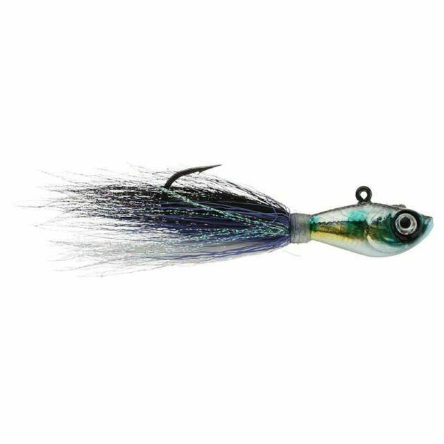 SPRO Fishing Lure Sbtjds-1//2 Prime Bucktail Jig 1//2 Oz Dark Shad for sale online