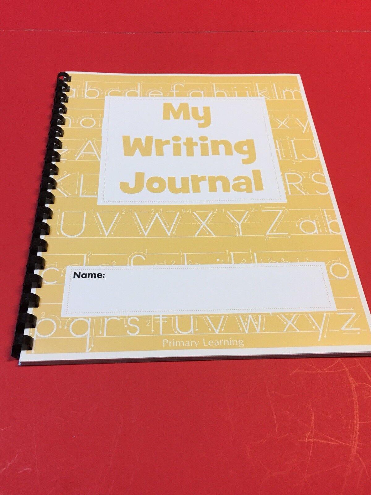 Primaire d'apprentissage MON écriture journal - 30 PGS Lot de 20 (YEL) fournitures scolaires