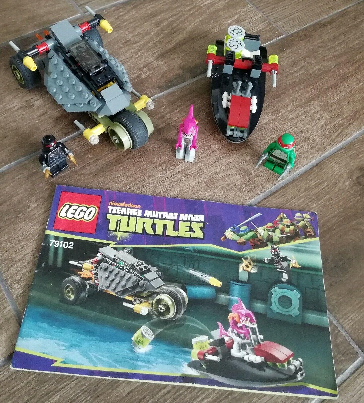 Neu /& OVP 79102 Verfolgungsjagd mit Raphael und Fishface LEGO Ninja Turtles