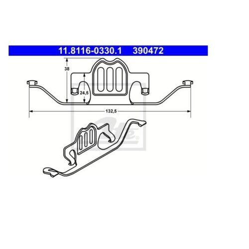 ATE Feder für Bremssattel BMW E60 E61 E70 F15 F85 E71 E72 F16 F86