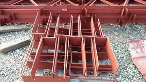 Details about Pole Barn wet set mounting bracket  Wood To Concrete Forever  post column