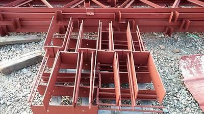 Pole Barn wet set mounting bracket. Wood To Concrete Forever post column