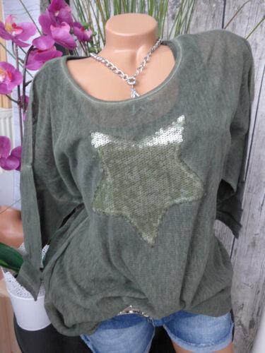 529 NEU 40742-48//50 mit Stern Ciso Bluse Tunika Shirt Gr