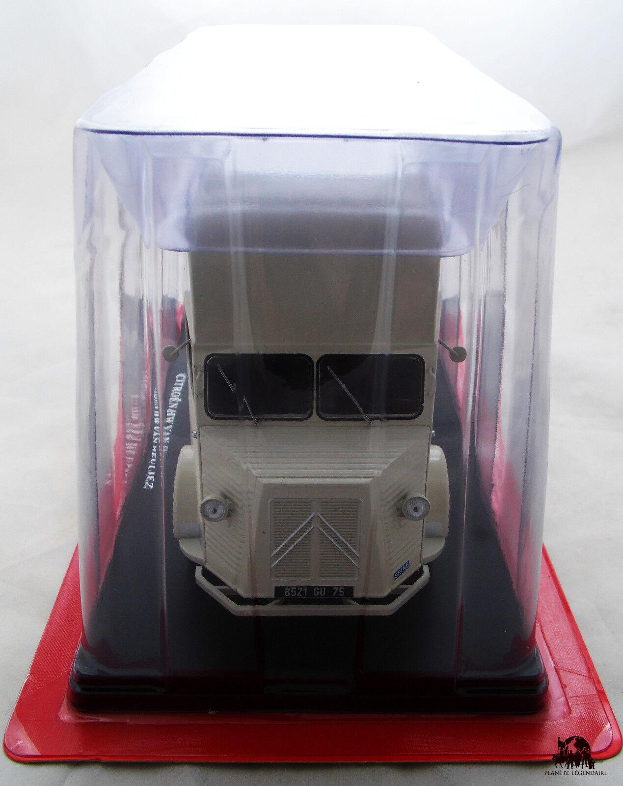 Miniature IXO Scale Scale Scale 1 24 Car CITROEN Type H Van Heuliez 1958 Diecast Metal 795c67
