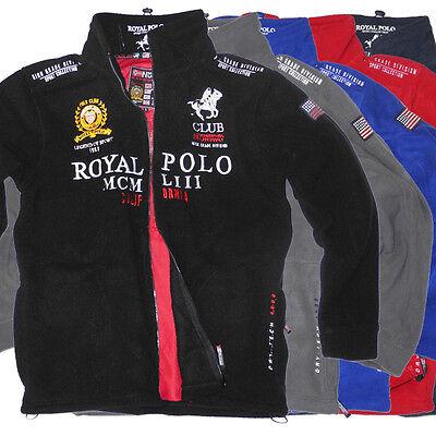 Geographical Norway Uniroyal Herren Fleece Jacke Polo-Club Outdoor Pullover