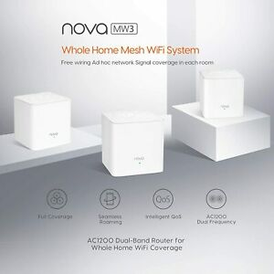 Tenda-MW3-MW6-Nova-Wave-2-802-11AC-Mu-Mimo-Whole-Home-Wi-Fi-Mesh-System