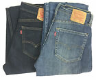 New Levi's Strauss Men's 505 Straight Leg Regular Fit Jeans Variety Choose Size