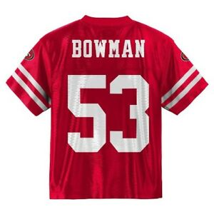34af417dc2c 2018-2019) San Francisco 49ers NAVORRO BOWMAN nfl Jersey Youth L ...