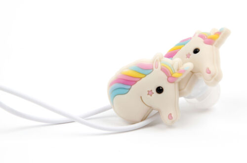 Smartphone Kinder Ohrhörer Kopfhörer Ear-In Einhorn für Sony Blade V9 Vita