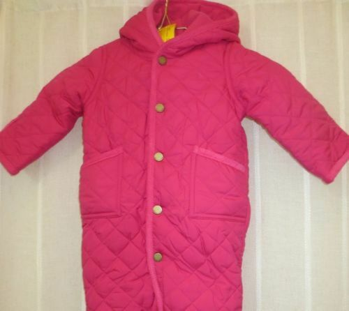 4b3933ac5 Polo Ralph Lauren Infant Girls Quilted Snow Suit Bunting Size 6 ...