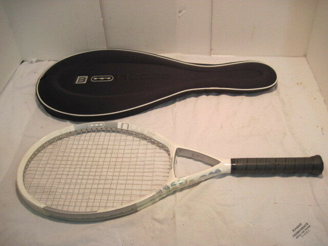 OLD WILSON CODE NI OVERSIZE TENNIS RACQUET AND COVERSOLID