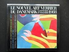 LE NOUVEL ART VERRIER DU DANEMARK - PAR H. NORREGARD-NIELSEN