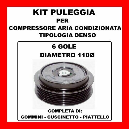KIT PULEGGIA COMPRESSORE ARIA CONDIZIONATA FIAT PUNTO-GRANDE PUNTO 71789113