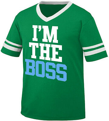 I/'m The Boss CEO In Charge Big Undercover Cake Casino Pit Man Am Juniors T-Shirt