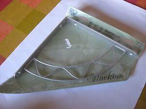 100% De Qualité Lot De 2 Métal Nickel étagère Parenthèses Neuf Dans Emballage Avec Instructions-afficher Le Titre D'origine