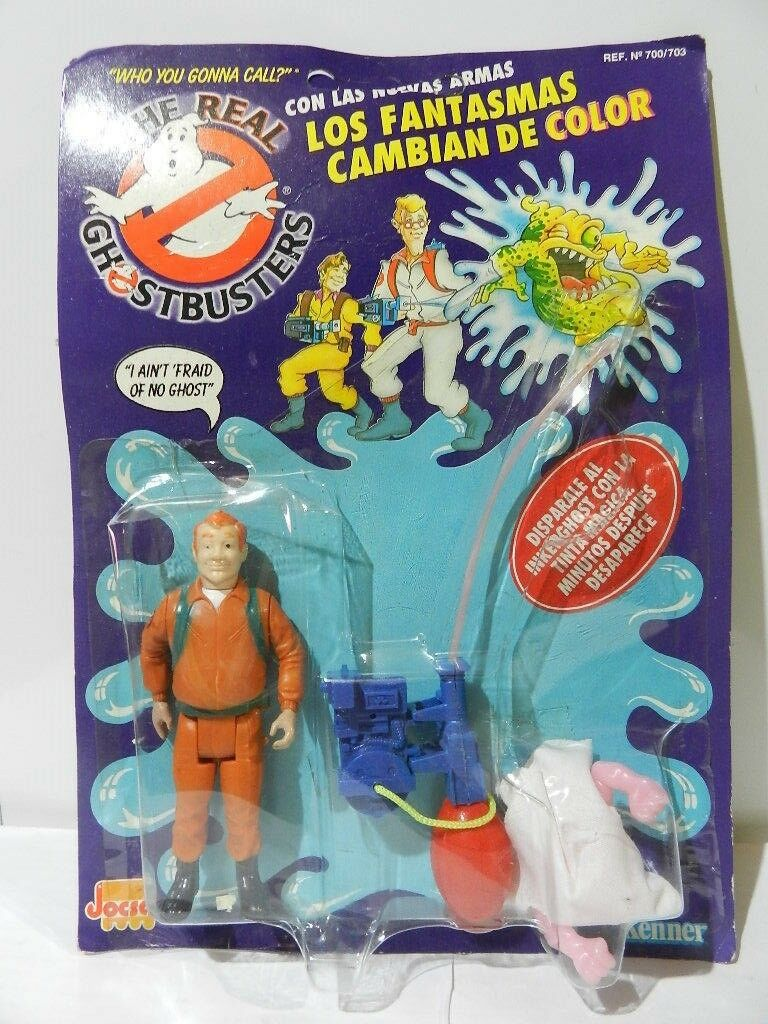 VINTAGE THE REAL GHOSTBUSTERS RAY STANTZ GHOSTS CHANGE COLOR 1992 JOCSA VARIANT