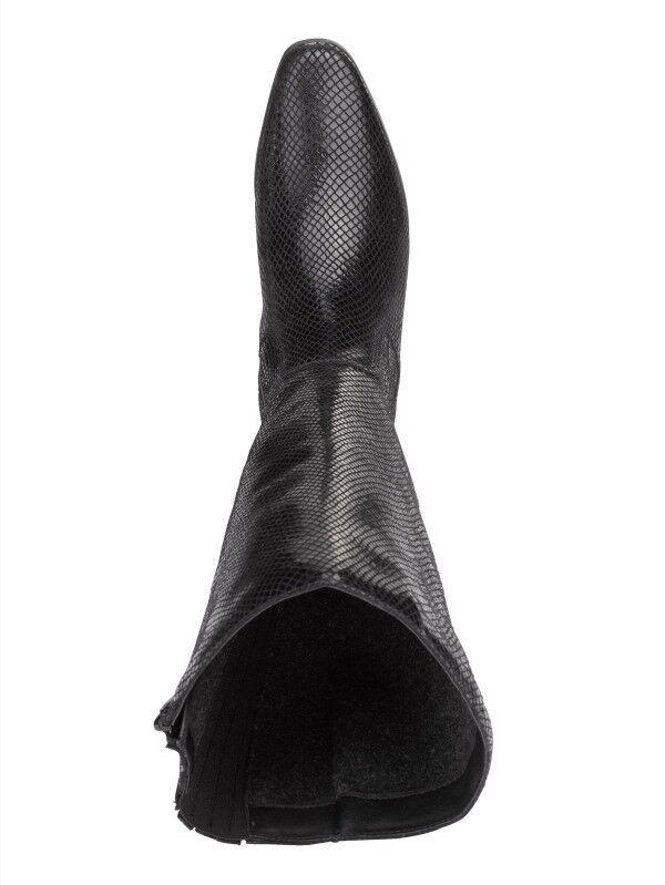 SCHUHE  STIEFEL   LEDER  STIEFEL Snakemuster SCHAFTWEITE 22 cm  JJFW  Gr. 40 ( 6,5 ) 1e352d