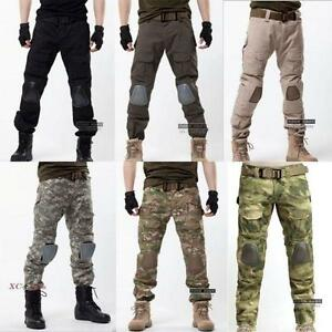 Cool army knee pad military men motorcycle trousers overall camo image is loading cool army knee pad military men motorcycle trousers voltagebd Choice Image