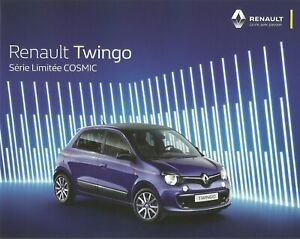 New-Catalogue-Brochure-Katalog-Prospekt-Renault-Twingo-Cosmic-8-Pages-Year-2016
