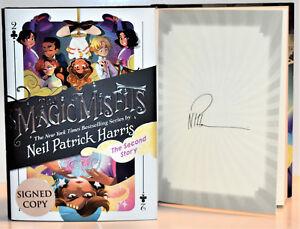 SIGNED-1st-Print-The-Magic-Misfits-2-AUTOGRAPHED-Neil-Patrick-Harris-NEW-hx