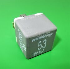 602-Audi VW Seat Grey-53 Fuel Pump/ Wiper 4-Pin Relay 141951253B Bitron OMP 12V