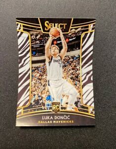 2018 Panini Select Zebra LUKA DONCIC Concourse rc Rookie *STICKER* *READ*