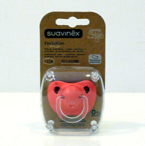 SUAVINEX-EVOLUTION-ML-SILICONE-ANATOMICAL-TEAT-PACIFIER-DUMMY-12M-ROSA-SALMONE