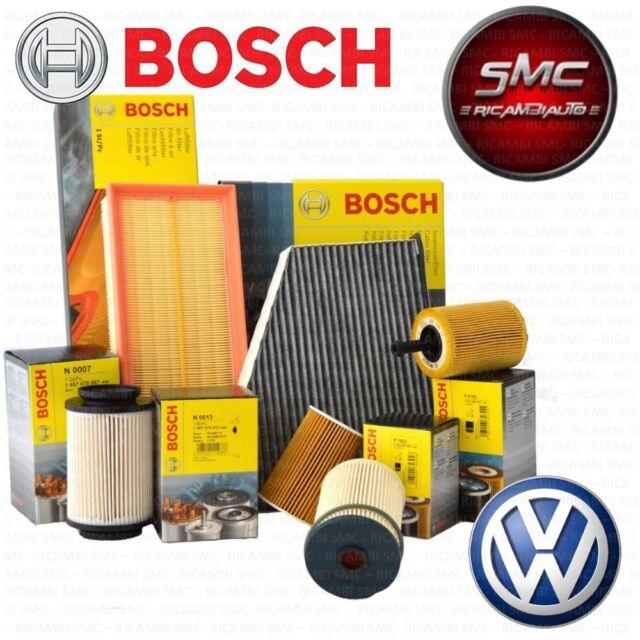 INSPEKTIONSKIT FILTERSET 4 FILTER BOSCH VW GOLF 6 VI 5K 1.6 TDI 66 77 KW