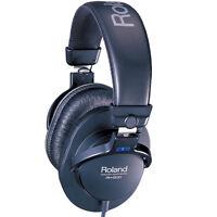 Roland RH-200 Monitor Headphones - Closed Back - Adjustable headband 3.5mm/6.3mm